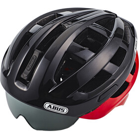 ABUS In-Vizz Ascent Fietshelm, red comb